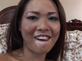 Asian beauty fucked by an old man